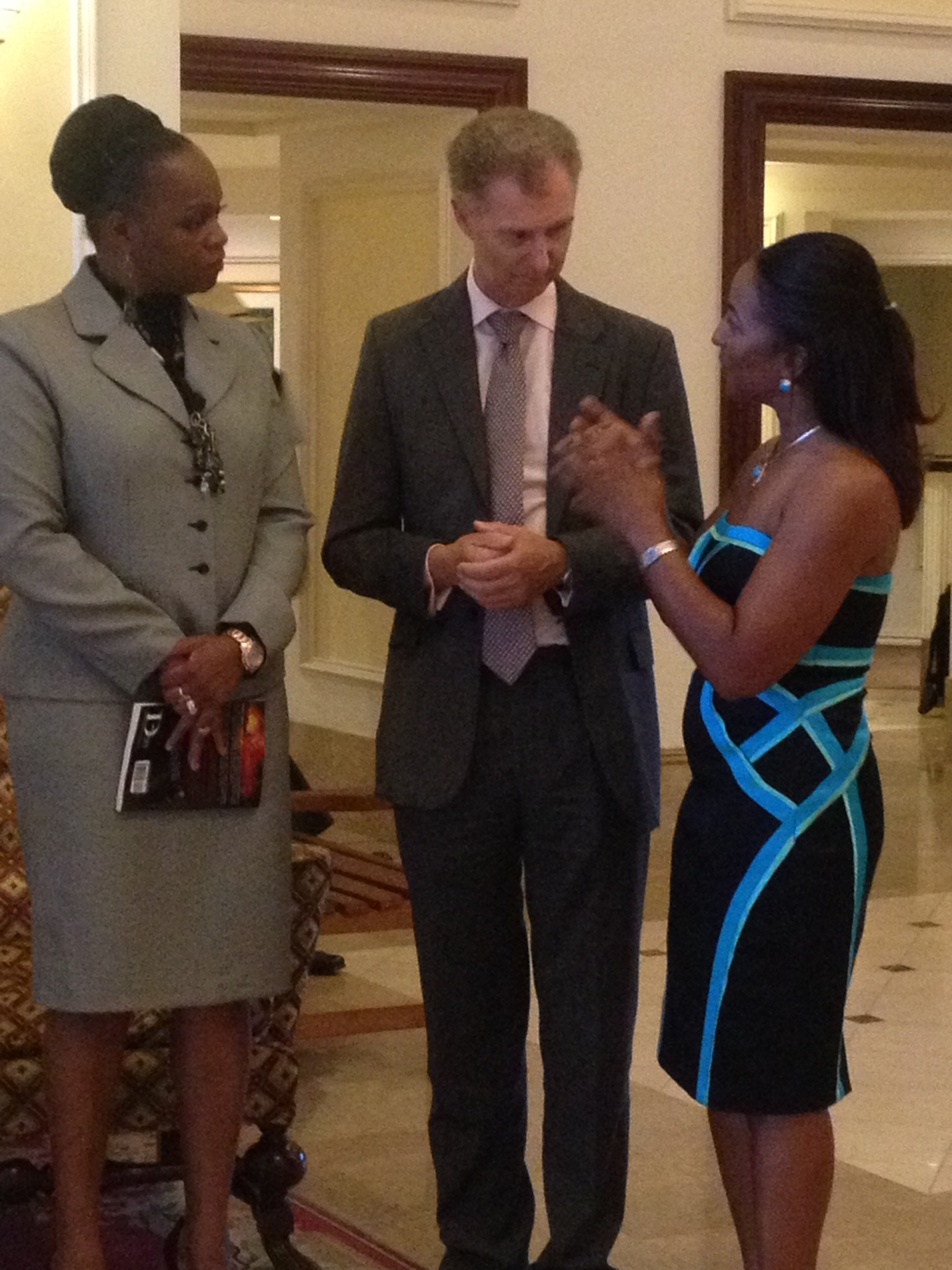 Speaking With The Governor of Bermuda